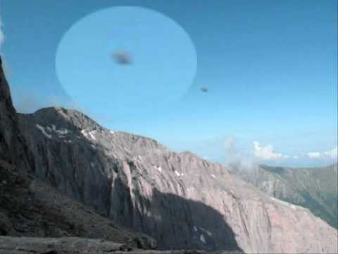 ufo over the olimpos
